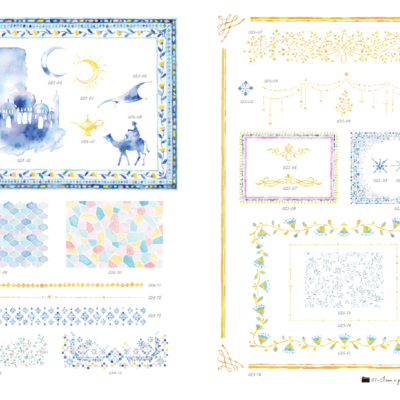 s1 04 400x400 - きらきらときめく手描き素材集